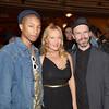 A-0285 Pharrell Williams, Diana Widmaier-Picasso, Daniel Arsham