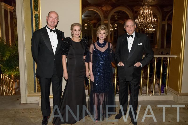 ASC_8708 Prince Dimitri of Yugoslavia, Carolina Herrera, Jacqueline Weld Drake, Reinaldo Herrera
