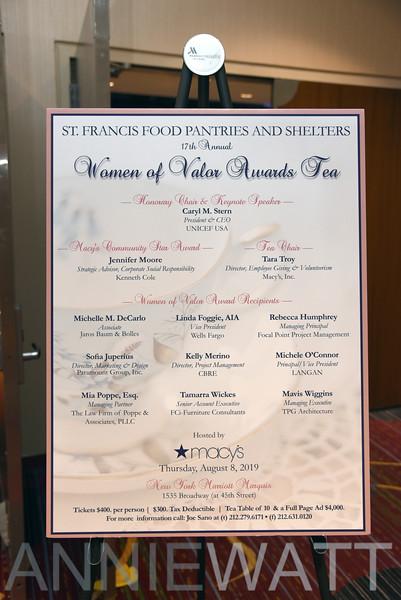 A_01 17th Annual Women of Valor Awards Tea