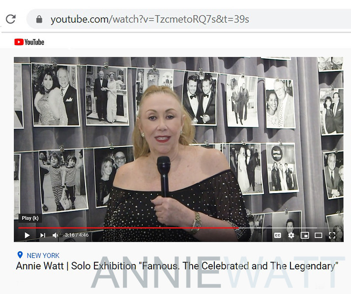 Annie Watt FAMOUS video by Jane Graeves