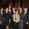 Andrea Dubois, Kristin Johnson, Maurice Dubois, Michael and Diane Lomonaco, Drew Nieporent, Richard Grausman