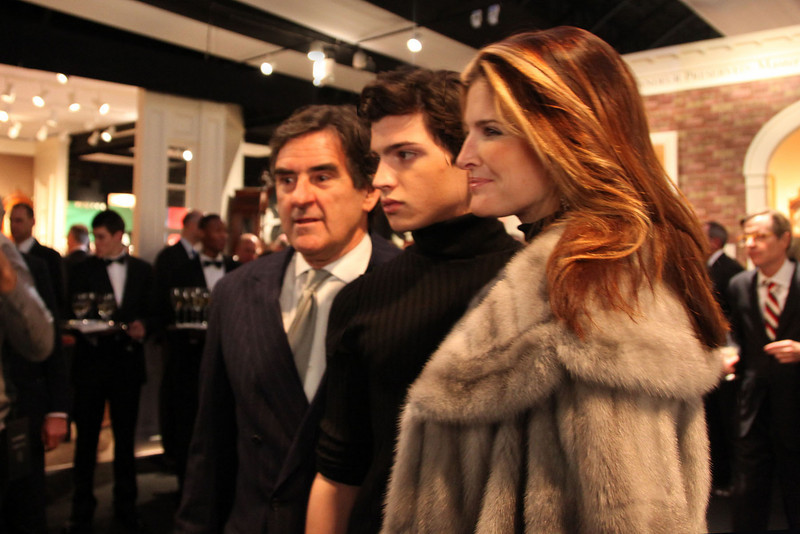 IMG_8479-Peter Brant, Peter Jr, Stephanie Seymore