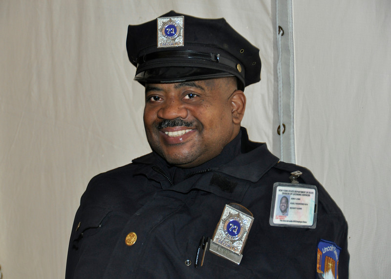 z Lincoln CenterSecurity Guard, John Lewis