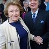 Lillian Vernon with husband Paolo Martino