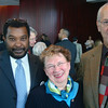 Jerry Zecastro –Director of Concert Hall_Sally Webster & Nick Webster, the retired manager of the New York Philharmonic