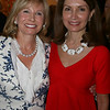 Sharon Bush and Jean Shafiroff