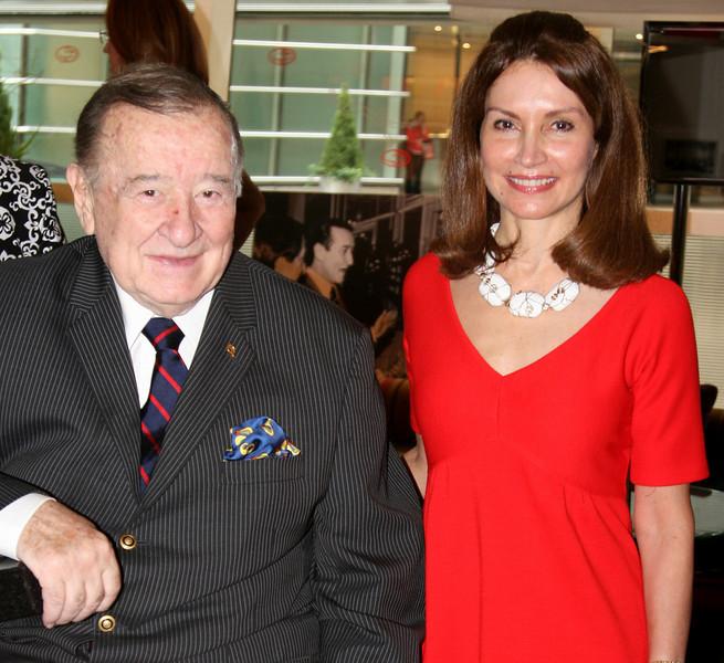 Sirio Maccioni and Jean Shafiroff