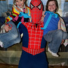 a-Claire & Kaylie with SpiderMan
