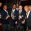 2-senior students wear golden ties