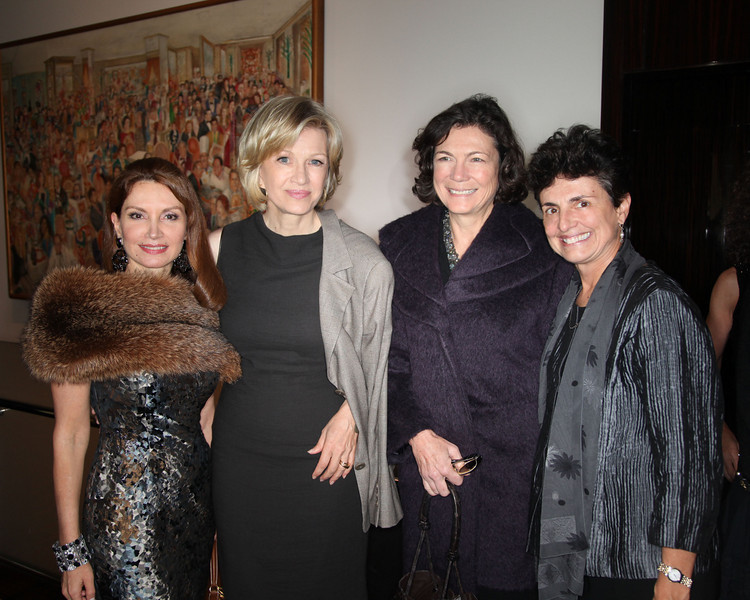 Jean Shafiroff, Diane Sawyer, Diana Taylor, Ana Oliveira--