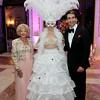 0046a-Herme de Wyman Miro, left, and Brian Saipe with costumed greeter Susan Allan
