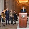 B_6964--Carol Conover, Yoo Soon-taek, Mike Hearn, Emily Rafferty, Lulu Wang, UN Secretary General Ban Ki-moon