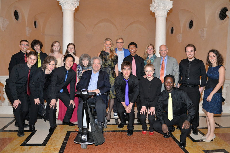 A_00-Young artists with Toby and Itzhak Perlman, Kristy and Jim Clark