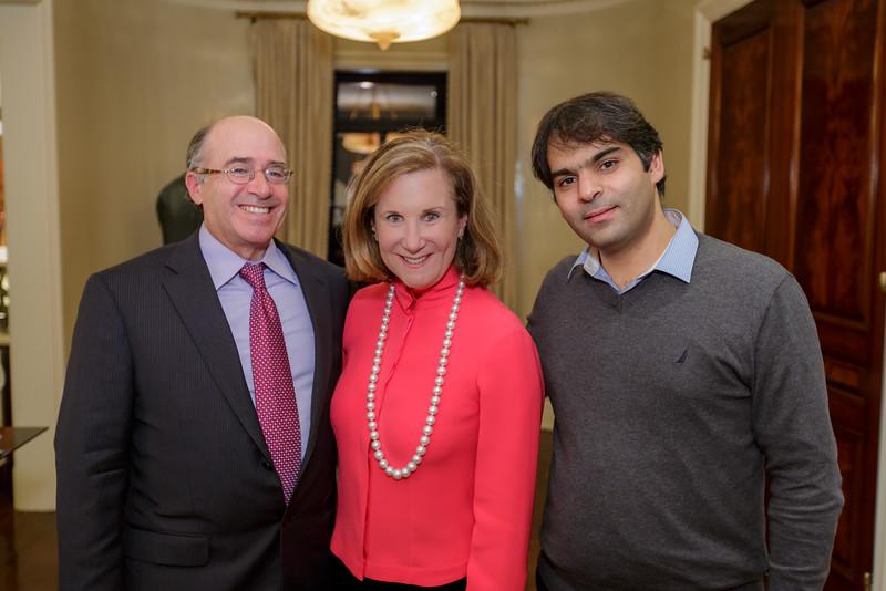 _DPL6429-- Polyphony co-founders Craig and Deborah Cogut and Nabeel Abboud Ashkar