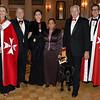 A_6413-Dame Diana Frankel, Grand Councillor Vincent Bonagura, Dame Ann Van Ness, Celeste Lopes,Esq, Wells B Jones, CEO of the Guide Dog Foundation, Chevalier James Doran