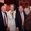 2 DD-5801- Jim Barton, President Anne Hall Elser, Michael Kovner, and Nancy Barton