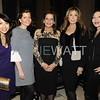 B3W0368 Wendy Sy, Sibylle Eschapasse, Sylvia Hemingway, Cheri Kaufman, Jane Scher