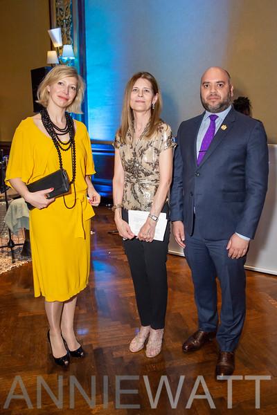 ANI_7002 Anne-Claire Legendre, Sue Devine, Majid Al-Suwaidi