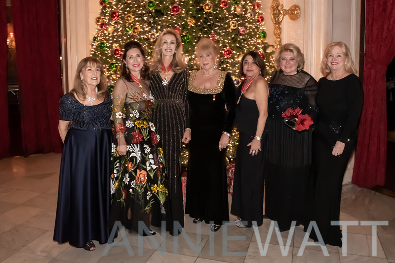 B_1043 Niva Donohue, Dame Ann Van Ness, Dame Diana Frankel, Barbara Kemper-Gross, Evelyn Berry, Barbara Ostrom, ____
