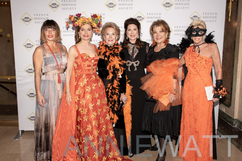 A_2554 Silvina Leone, Jean Shafiroff, Elizabeth Stribling, Ann Van Ness, Odile De Schiétère-Longchampt, CeCe Black