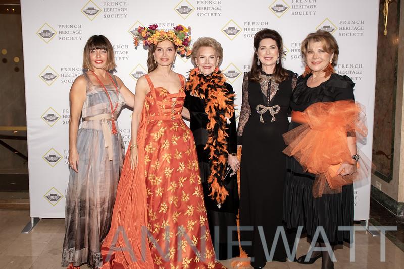 DSC_2551 Silvina Leone, Jean Shafiroff, Elizabeth Stribling, Ann Van Ness, Odile De Schiétère-Longchampt