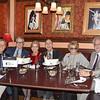 DSC_2347 Chuck Fisher, Bill Evans, Dr  Sharon Dunn, Freddie Gershon, Myrna Gershon, Harvey Zirofsky