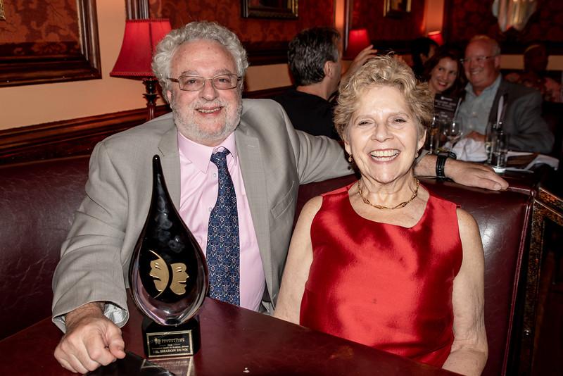 DSC_2868 Harvey Zirofsky, Dr  Sharon Dunn