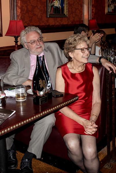 DSC_2745 Harvey Zirofsky, Dr  Sharon Dunn