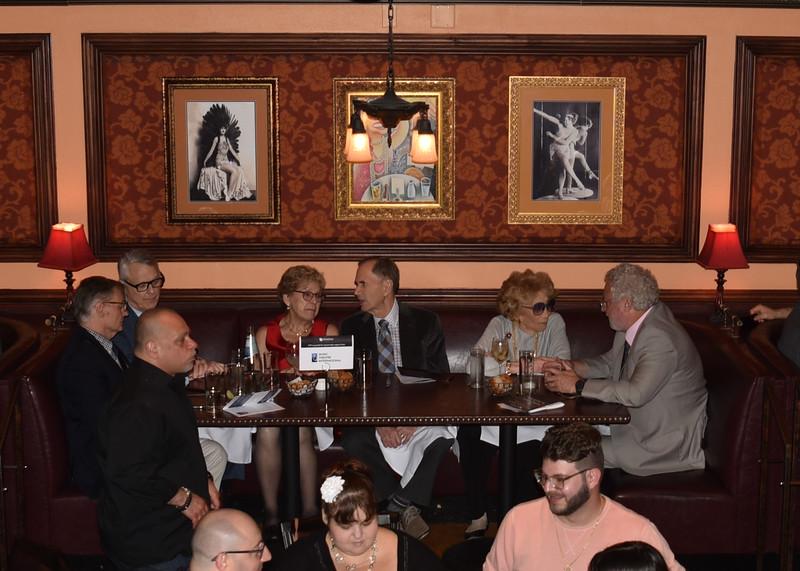 DSC_2408 Chuck Fisher, Bill Evans, Dr  Sharon Dunn, Freddie Gershon, Myrna Gershon, Harvey Zirofsky
