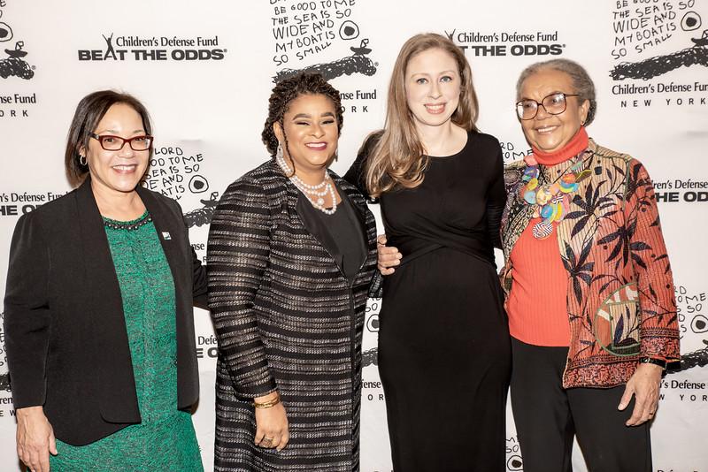 AWA_0957 Naomi Post, Robyn Coles, Chelsea Clinton, Marian Wright Edelman