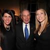 IMG_9070-Lisa Wilf, Mayor Michael Bloomberg, Abby Halpern