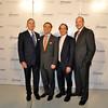_DSC0912-Robert I Grossman, David Fiszel,  Dr Andrew Rosenberg, Gary D Cohn