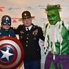 DSC_9572-Captain America, Sgt  1st Class Charles Shuck, The Incredible Hulk