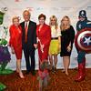 DSC_9597-Hulk, Lois Pope, Masa Tanaka, Roberta reardon, Tinsley Mortimer, Robin Ganzert, Captain America,  Hero dog Stella