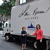 LV_06--Lillian , Vernon, Beth Shapiro, executive director of Citymeals-on-Wheels