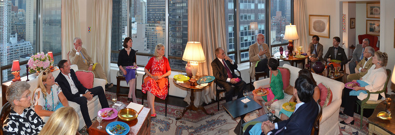DSC_1-The Inaugural Cultural Evenings with The Dilenschneider Group