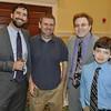 _DSC5614-Rabbi David Saiger, Ezra Konigsberg, Rabbi Andrew Sklarz and son Alex