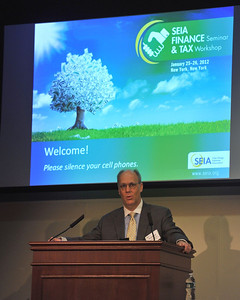 SEIA Conference in NYC, January 2012