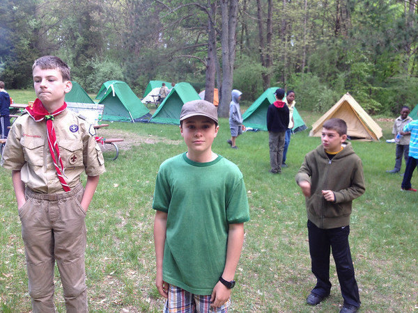 201305 1st Year Campout