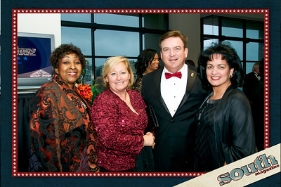 Mayor Edna Jackson, Marty Johnston, Mark & Frances Dana