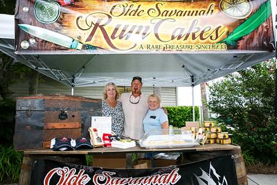 Olde Savannah Rum Cakes: Pam Barrow, Ricky Barrow, Christine Green