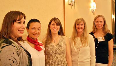 Samantha Schreiber, Frankie Brooks, Leigh White, Nicole Greenfield, Sarah Long