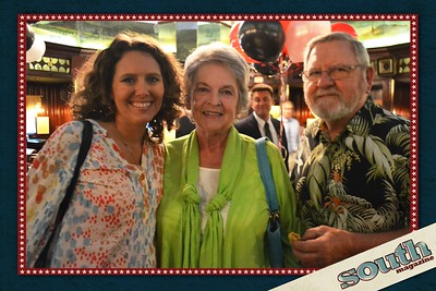 Alaine Evans, Debbie and Andy Laiewski