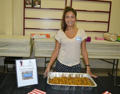 Jaeda Ochoa with Savannah's Fresh Catch Seafood
