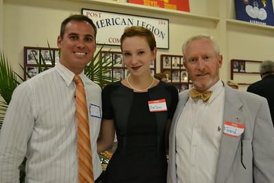Regan Drake, Helen Ransconde and Fred Bauerlein