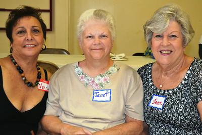 Nancy Black, Janet Smith, and Jean Pierce
