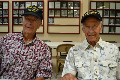 Brothers John and Al Quante, WWII vets