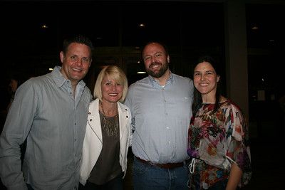 Todd and Staci Lerch, Chris Donovan, Anne Lerch