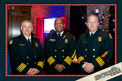 Operations Officer Ben Morse, Chief Charles Middleton, Logistics Chief Curtis Wallace