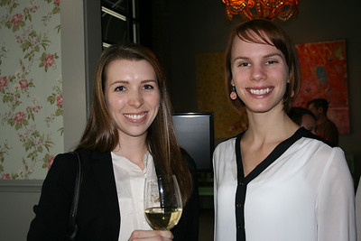 Jessica Lyons and Courtney Valentine
